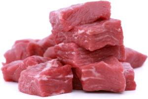 Pile of Fresh Beef